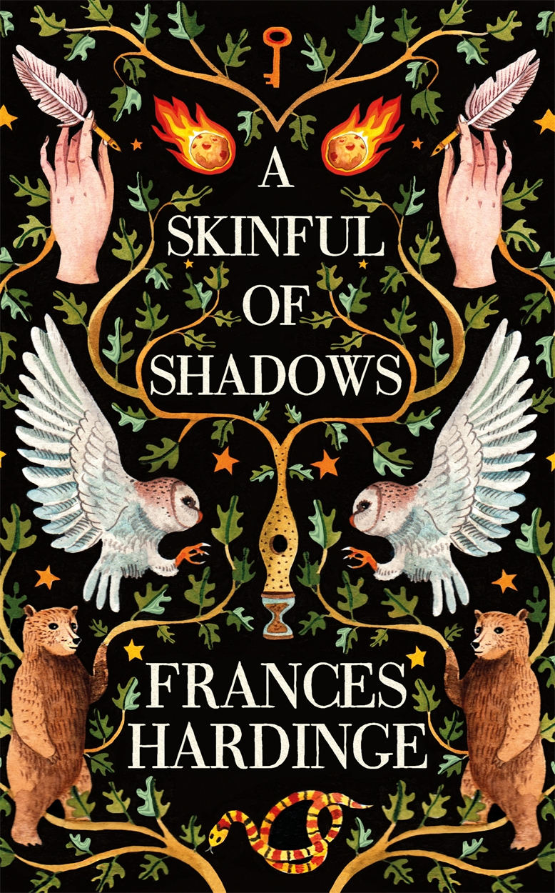 A Skinful of Shadows UK cover